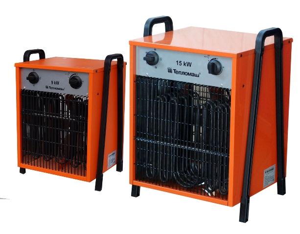 Тепловентиляторы электрические средней мощности