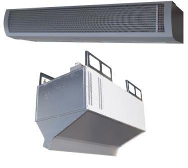 Тепловые завесы промышленные Серия 400