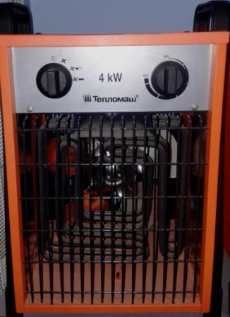 Тепловентилятор КЭВ - 4С41 Е