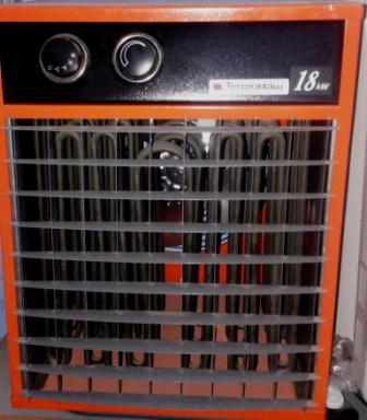 Тепловентилятор КЭВ - 18С20