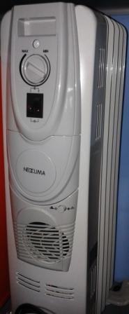 Масляный обогреватель NC 9105-F 5 секций с вентилятором