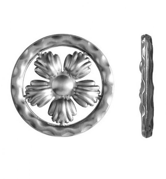 Кованое кольцо на дверь 11.333