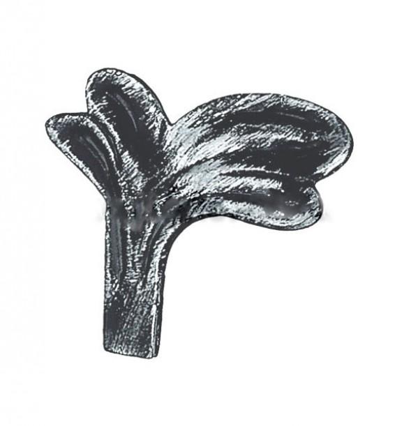 Кованый элемент Лист 51.005