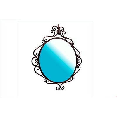 Зеркало кованое круглое 770x850