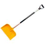 Лопата для уборки снега 400х380 деревянный черенок