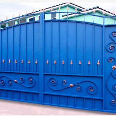 Ворота боярские узоры