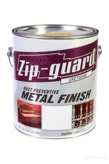 Краска для металла Zip Guard гладкая матовая белая ( G-3,785л )