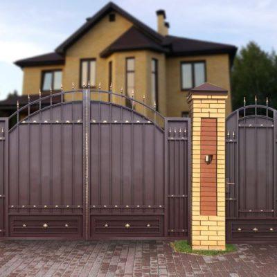 Ворота Античные Лайт