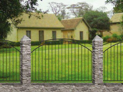 Кованый забор Базовый 10