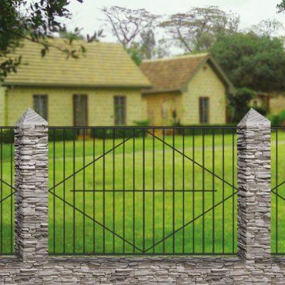 Кованый забор Базовый 4