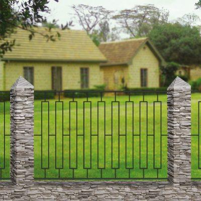 Кованый забор Базовый 8