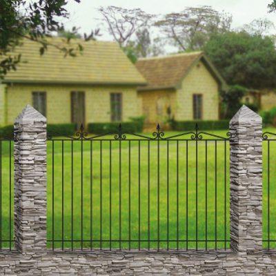 Кованый забор Базовый 9