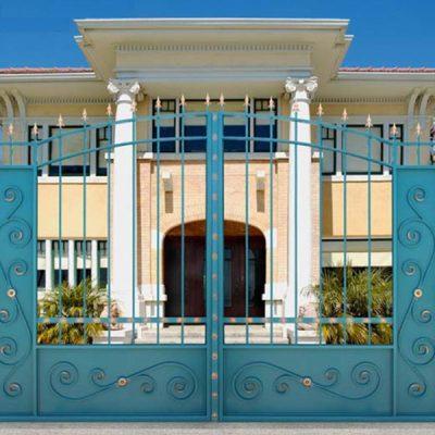 Ворота Дворянские полупрозрачные