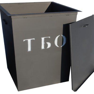 Контейнер ТБО, 0.75м.куб. (930х930х1000)