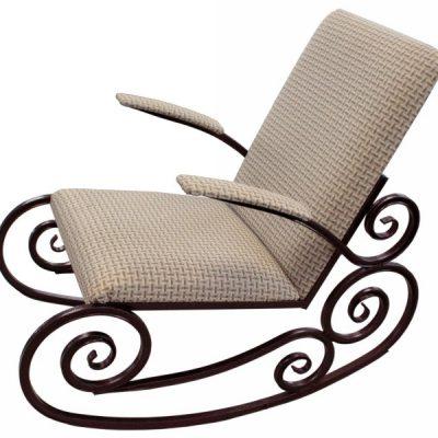Кованая Кресло-качалка Эгоист-Лайт (1000х610х900)