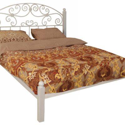 Кованая Кровать Афродита (1 спинка) 1.6х2м (2100х1680х1150)