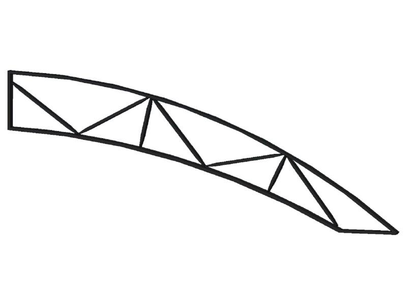 Полуферма №3 (2750х40х980)