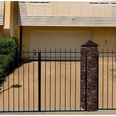 Ворота Садовые Прямые