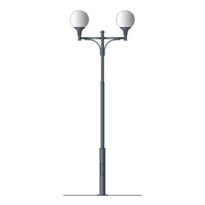 Столб фонарный №2, без фонаря L=3м (3543х1000х120)