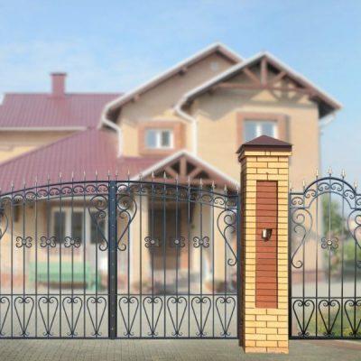 Ворота Узорные эконом