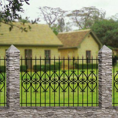 Кованый забор Забор №11