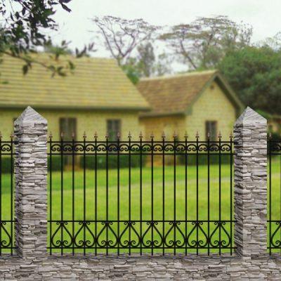Кованый забор Забор №12
