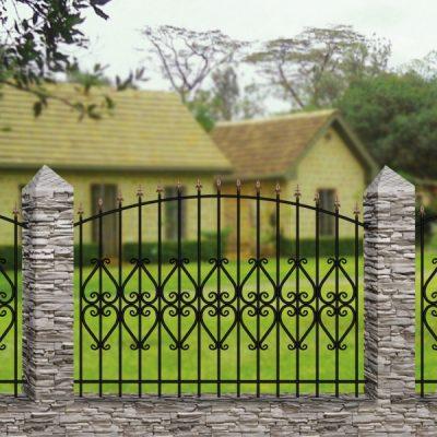 Кованый забор Забор №22
