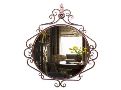 Зеркало кованое Круглое (780х20х890)
