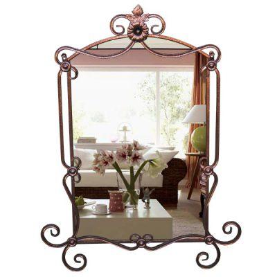 Зеркало кованое Ромашка (680х20х930)