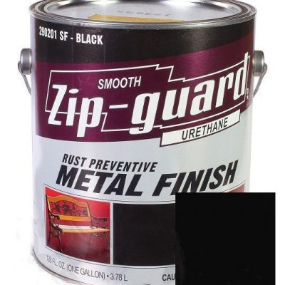 Краска для металла Zip Guard гладкая черная ( Q-946 мл )