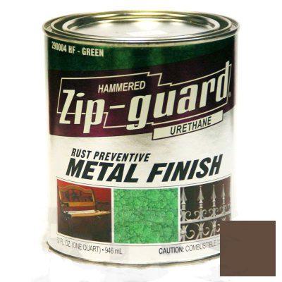 Краска для металла Zip Guard гладкая коричневая ( Q-946 мл )