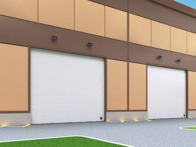 Ворота промышленные DoorHan ISD01 без калитки