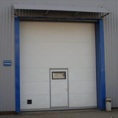 Ворота промышленные DoorHan ISD01 размер 4000*4750 мм